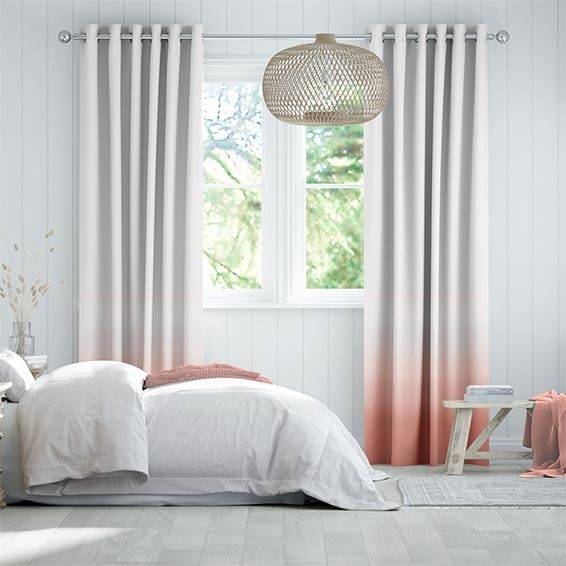 Ombre Blush Curtains