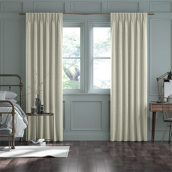 Paleo Linen Vintage Cream Curtains
