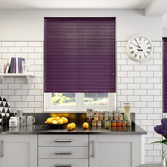 Premium Romantic Purple Venetian Blind - 25mm Slat