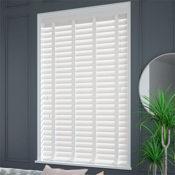 White Wooden Blinds With Tapes Fast Shipping Amp Free
