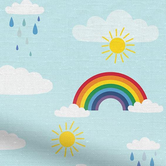 Rainbow Sky Curtains