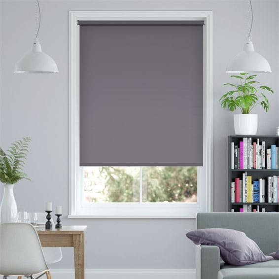 Santiago Blackout Scottish Thistle Roller Blind