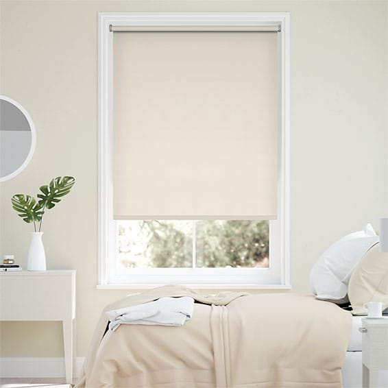 Sevilla Blackout Antique Cream Roller Blind