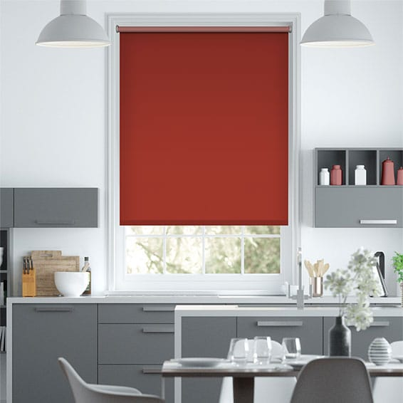 Sevilla Blackout Shiraz Roller Blind