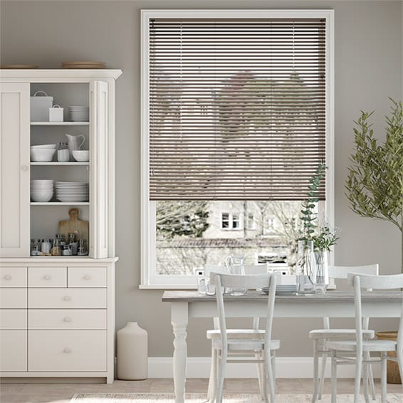 Spirit Light Brown Venetian Blind - 25mm Slat
