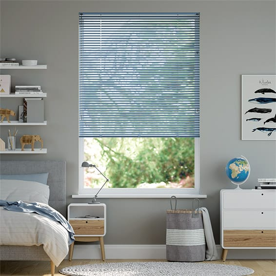 Spirit Surf Blue Venetian Blind - 25mm Slat