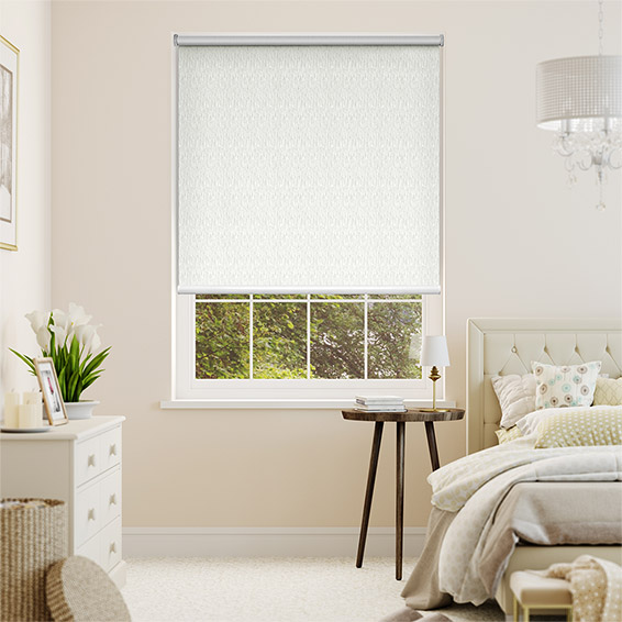 Static Blackout Ivory Roller Blind