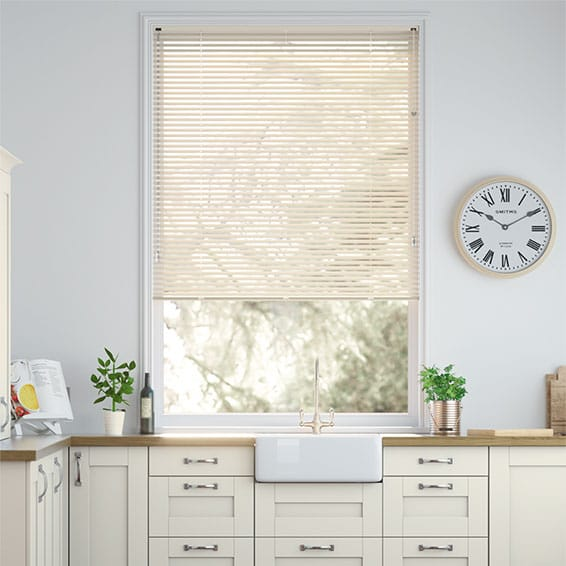 Studio Cornish Cream Venetian Blind - 25mm Slat