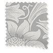 William Morris Sunflower Silver Grey Curtains slat image