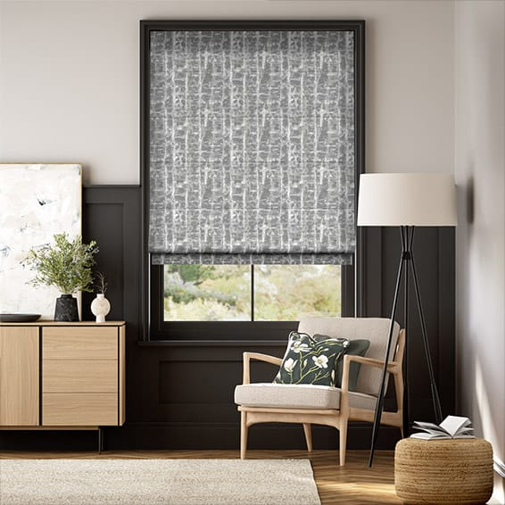 Sussex Silver Mist Roman Blind