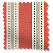 Choices Twill Stripe Linen Party Red swatch image