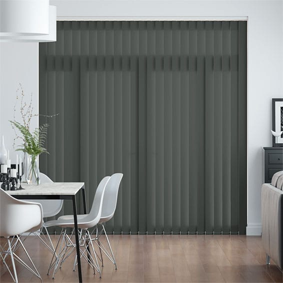 Valencia Iron Grey Vertical Blind