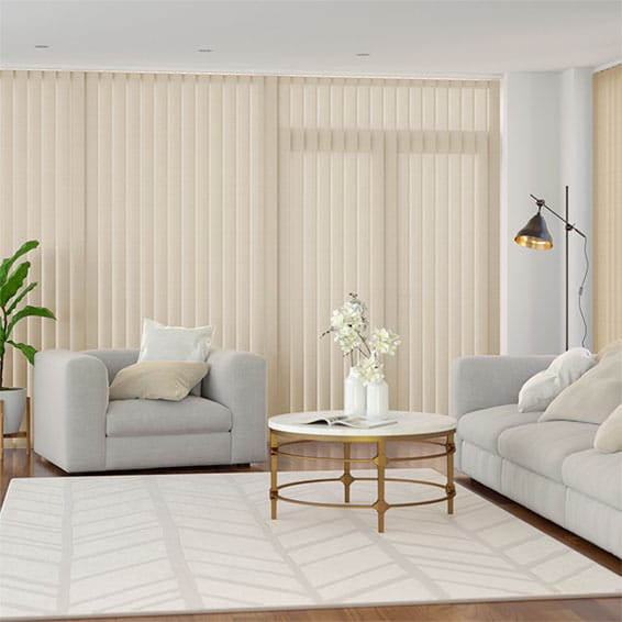 Welwyn Cream Vertical Blind